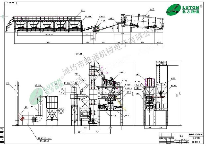lb2000型山东沥青混凝土搅拌站厂