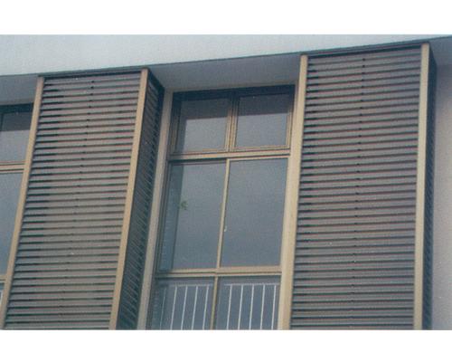 铝合金百叶窗的价格?室外铝合金百叶窗的产品图片?图片