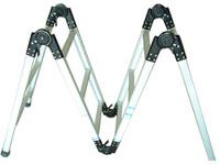加厚铝合金梯子家用折叠梯子3.5米人字梯直梯7米工程梯6米关节梯