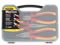 史丹利3件套MAXSTEEL加硬绝缘钳套装 84-011-22