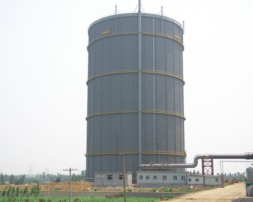 山东富伦钢铁15万m38.5KPa多边型稀油密封高炉煤气柜