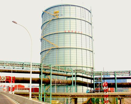 江苏沙钢集团20万m310KPa圆筒型稀油密封高炉煤气柜