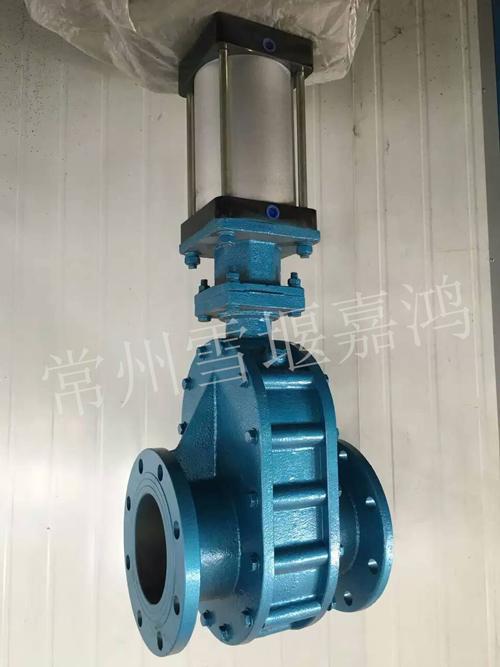 气动陶瓷双闸板阀与手动陶瓷双闸板阀性能特点