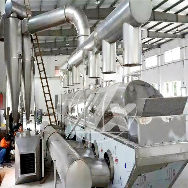 鸡精生产线专用流化床干燥机案例