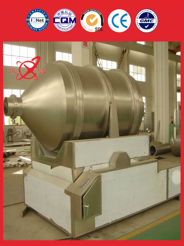 two dimensional mixer equipment