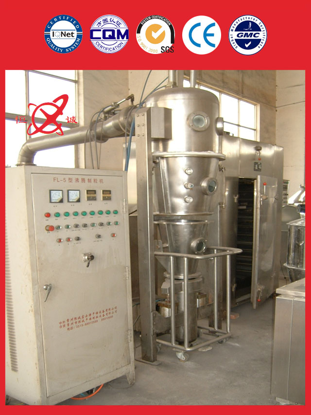 fluid bed granulator equipment cost