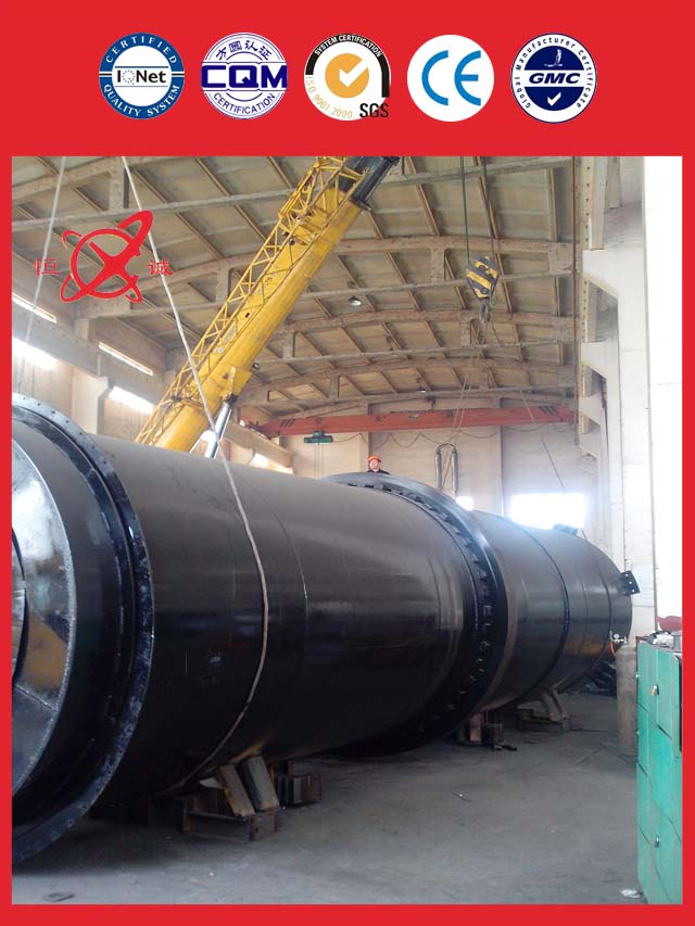 phosphate fertilizer and thiamine rotary kiln dryer equipment