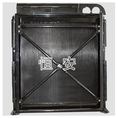 摊铺机散热器