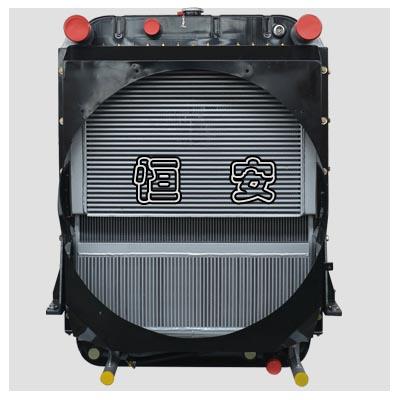裝載機散熱器-復合式結構