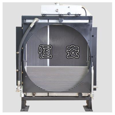 装载机散热器-复合式构造
