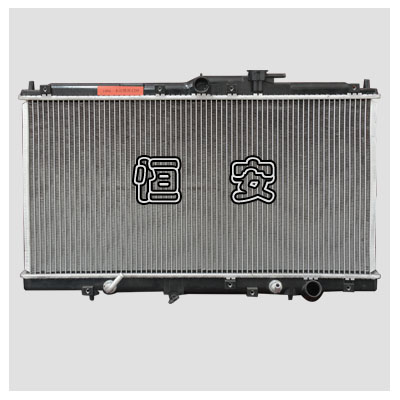 Passenger car radiator