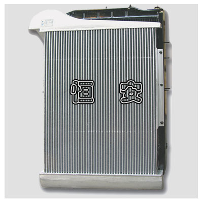 Commercial vehicle radiator