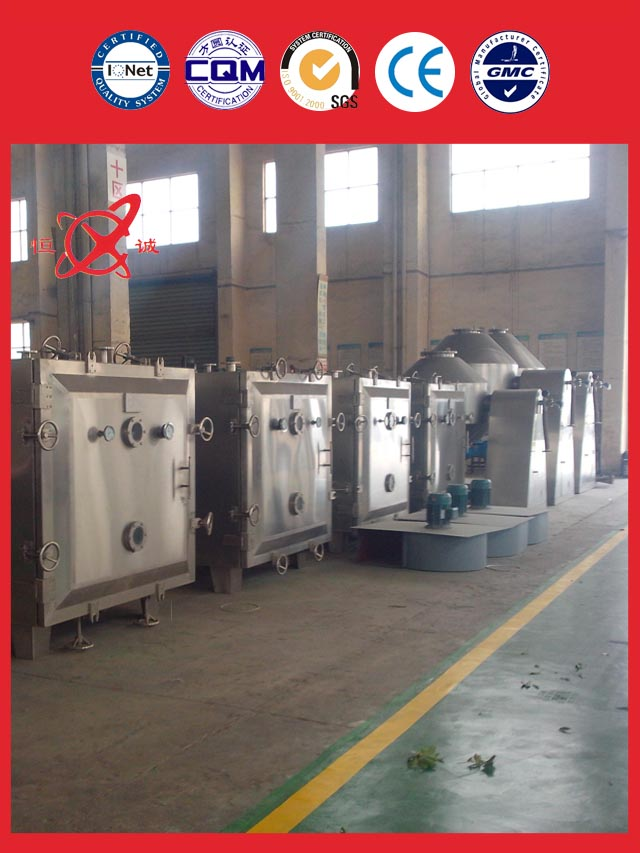 Vacuum Tray Dryer Equipment of sale