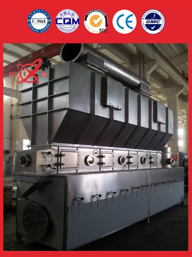 Horizontal Fluidized Bed Dryer Equipment system