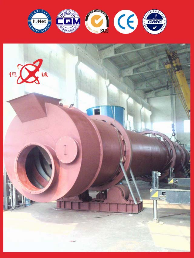 kaolin Rotary Kiln Dryer Equipment