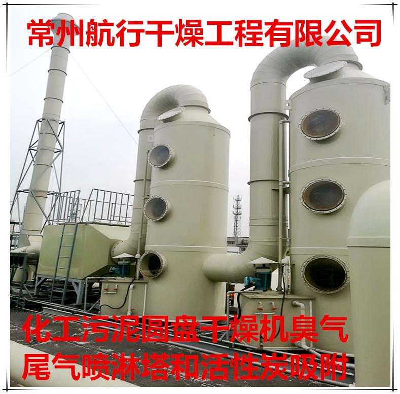 发酵污泥空心桨干燥机、化工污泥干燥机,去臭去水份污泥干化技术