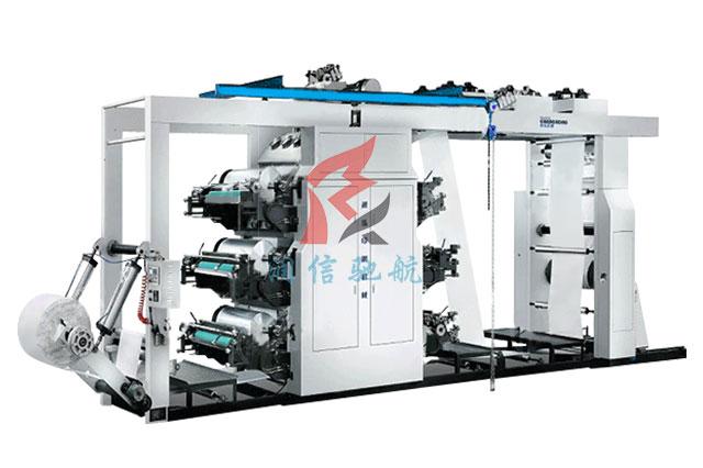 6色齿轮机编织袋印刷机
