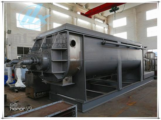 航行干燥出口欧洲荷兰120平方污泥圆盘干燥机