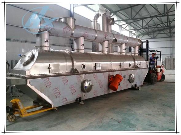 鸡精生产线专用流化床干燥机、面包糠流化床案例