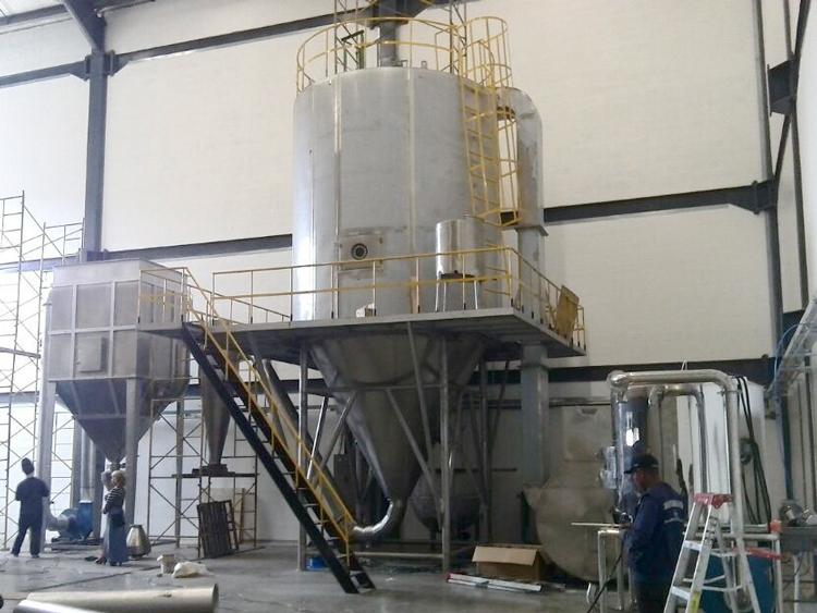 Spray-dryer-intallation-in-Columbia