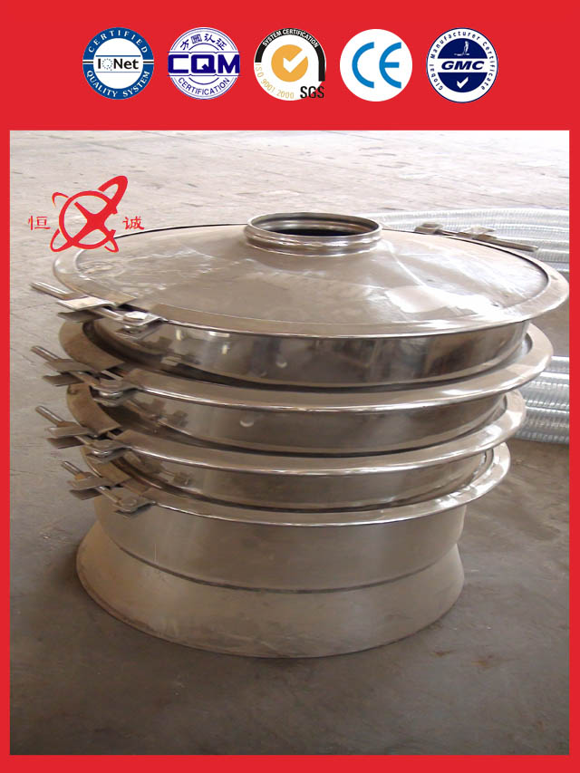 top quality Round Vibrating Sieve Machine