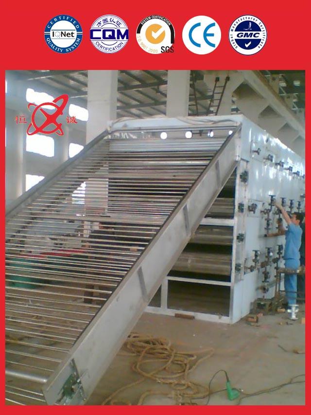 golden supplier mesh belt dryer equipment