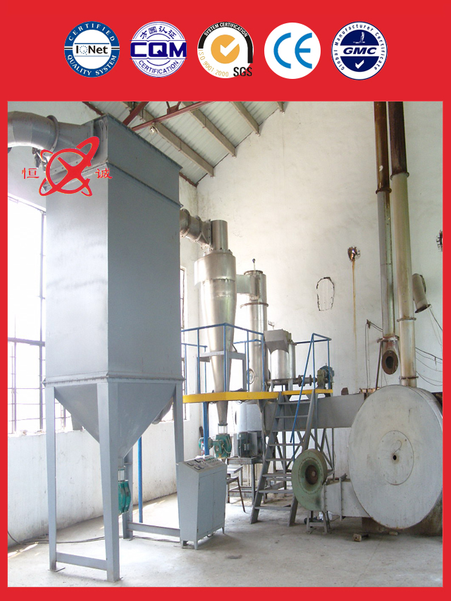 Indigo Industrial Flash Dryer Equipment